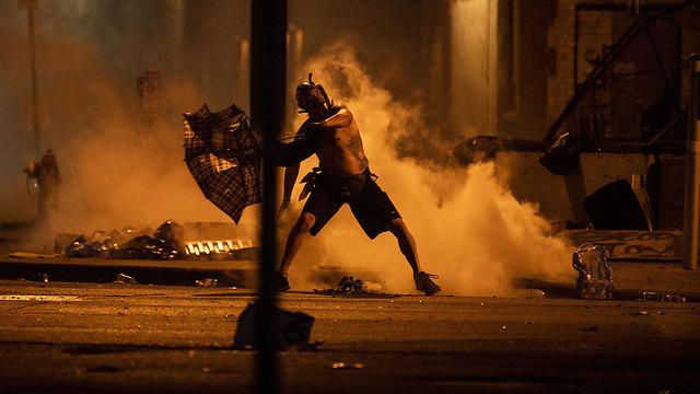 מהומות מיניאפוליס  (צילום: gettyimages)