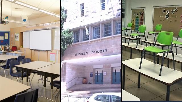 ראשית בית ספר בתי ספר נגיף קורונה הקורונה הגימנסיה ירושלים (צילום: אלכס גמבורג  shutterstock)