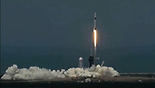 שיגור החללית (צילום: נאס
