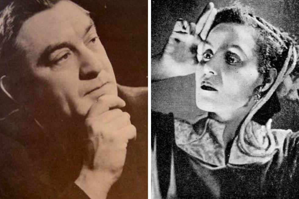 ברכה צפירה ונחום נרדי. חוקרים מציינים את המפגש שלהם כנקודת מפנה בזמר העברי (צילומים: wikipedia, cc, אלמוג, cc)