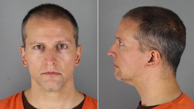 דרק צ'אובין בכלא (צילום: Hennepin County Sheriff's Office)