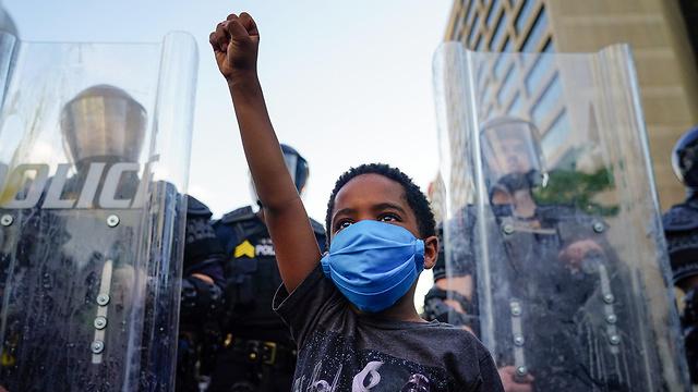 מהומות באטלנטה (צילום: AFP)