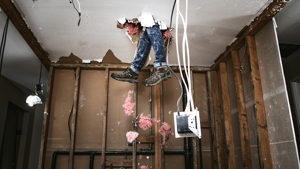 לשימוש בלייזר בלבד יובל צולר הפטיש העברי שיפוץ שיפוצים קבלן ( צילום: shutterstock)