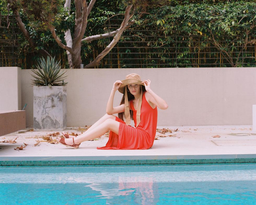 עם השמש הקופחת בישראל, כובע הוא אביזר חובה. טרס (צילום: דניאל ז'קונט)