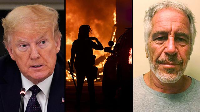 ג'פרי אפשטיין מהומות ארה