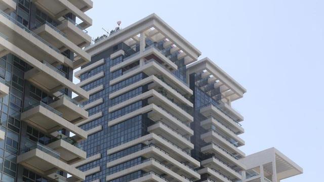 מגדלי w בתל אביב (צילום: מוטי קמחי )