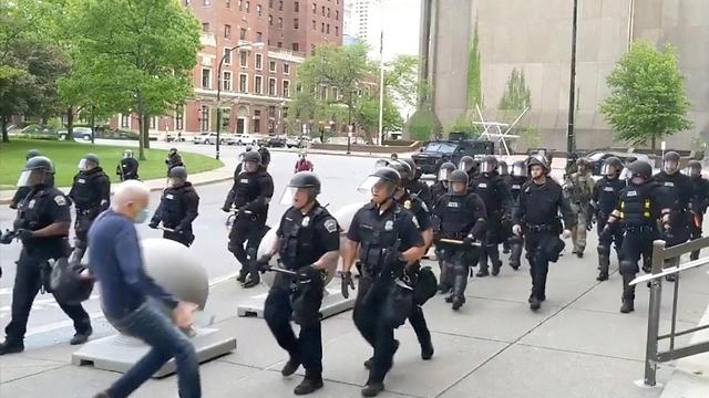 מחאה ומעצרים בניו יורק (צילום: רויטרס)