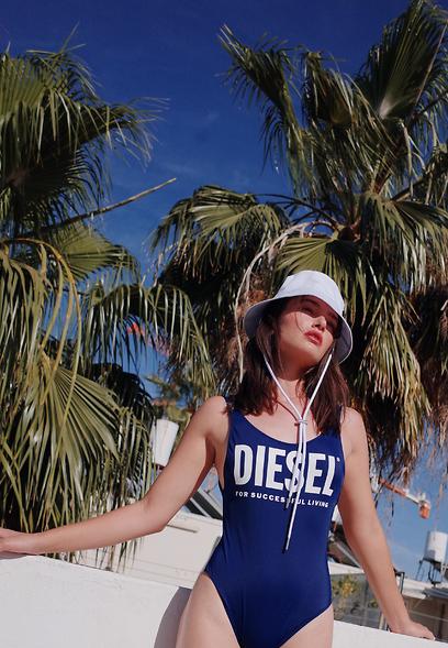 בגדי ים דיזל קיץ 2020 אחרי ריטוש (צילום: אלון שפרנסקי)