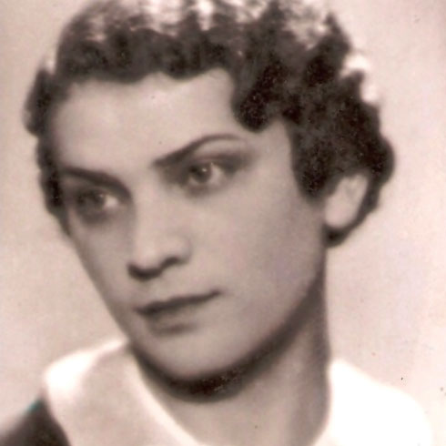 חסיה ביילין, אמו הביולוגית של אביה של ז'אנה (צילום: אלבום פרטי)
