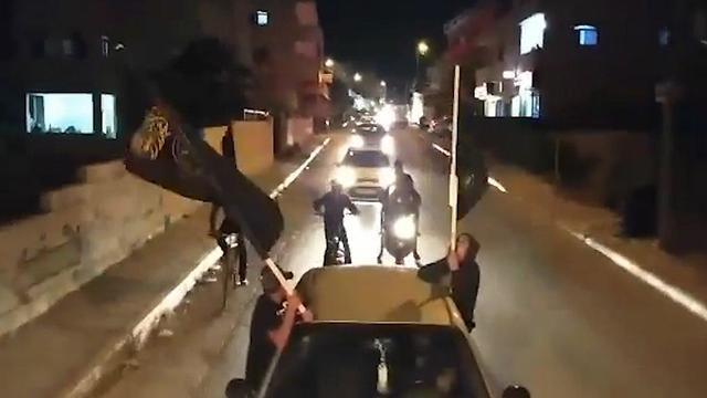 תהלוכות של הג'יהאד איסלאמי בבית לחם בשל מות רמדאן שלח ()