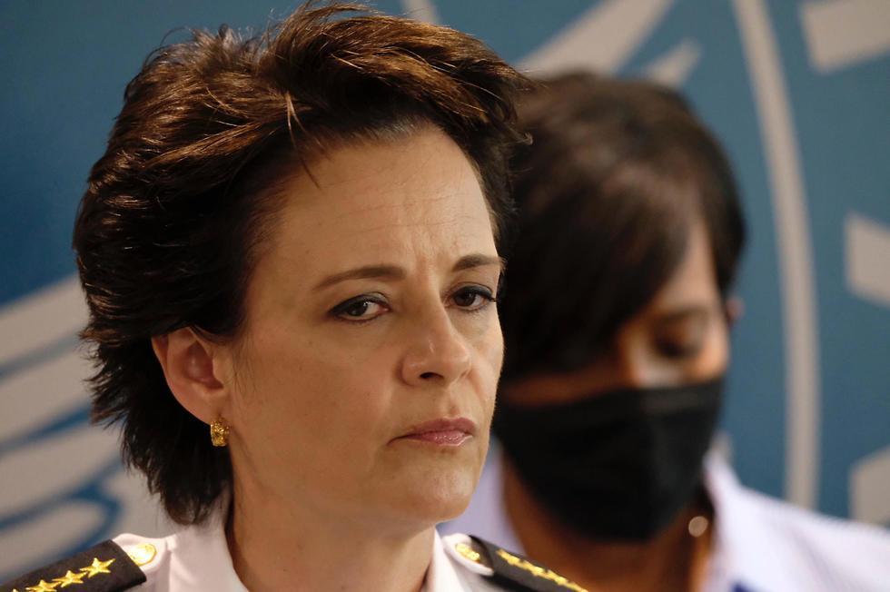 מפקדת משטרה אטלנטה אריקה שילדס ש התפטרה בעקבות ירי ב צעיר שחור (צילום: TNS)