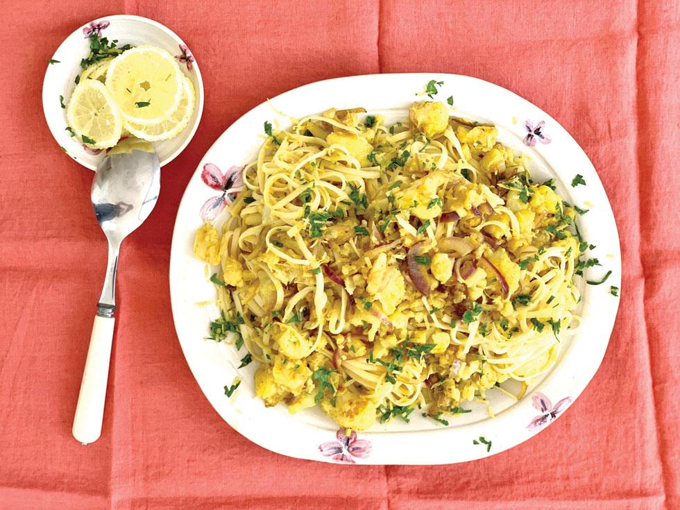 פסטה עם כרובית (צילום וסגנון: נטשה חיימוביץ')