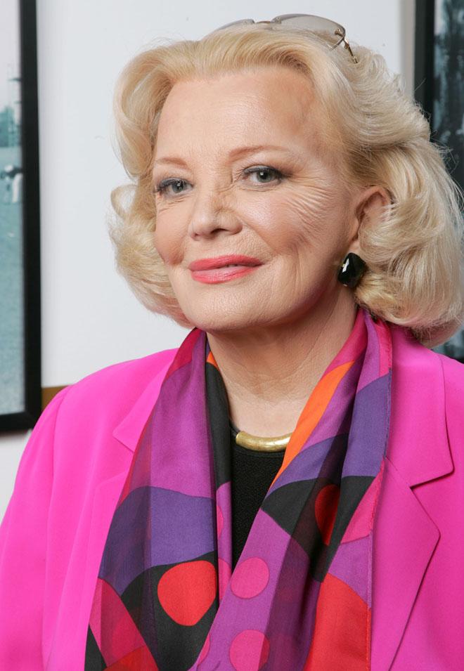 גם בסרטים שבהם השתתפה אחרי שחצתה את גיל 60, היא הביאה למסך את עצמה כפי שהיא – על קמטיה, כתמיה וסימני שנותיה. 2007 (צילום: Alberto E. Rodriguez/GettyimagesIL)