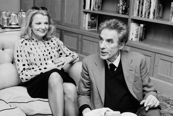 עם ג'ון קסאווטס, 1984 (צילום: M. McKeown/GettyimagesIL)