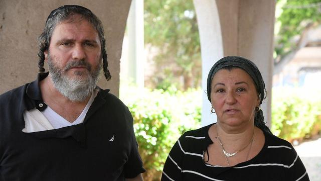 הוריו של אושרי אסולין (צילום: יאיר שגיא)