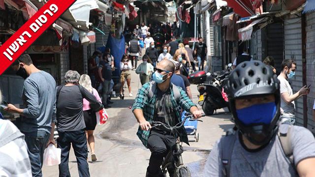 שוק הכרמל, תל אביב (צילום: מוטי קמחי)
