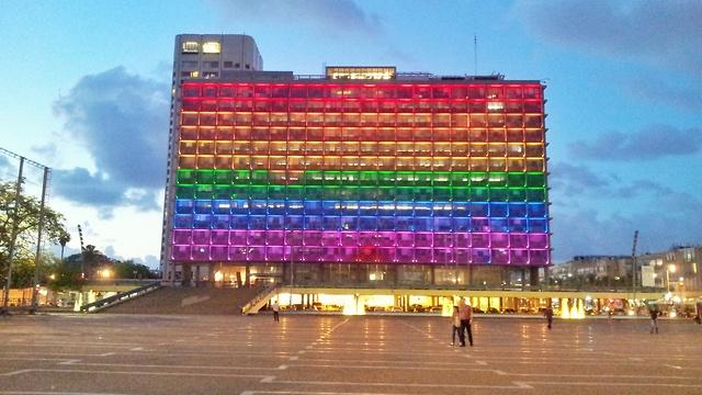 אירועי הגאווה של עיריית תל אביב יפו יוצאים לדרך (צילום: יפעת מור)