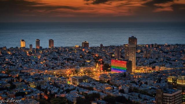 אירועי הגאווה של עיריית תל אביב יפו יוצאים לדרך (צילום: יוסי קרת)