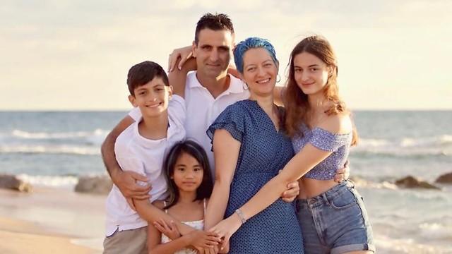 משפחת פשניצה (צילום: עטרה מושקה)