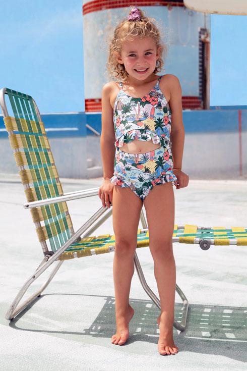 מיה חמד בקמפיין בגדי הים החדש (צילום: שי יחזקאל)