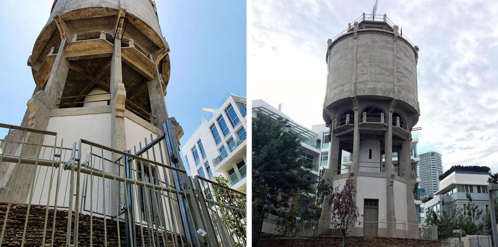 ומה קרה למגדל המים המיתולוגי של תל אביב? הפריע לשכנים לישון - אז סגרו אותו לציבור כולו. לחצו על התמונה לסיפור המלא (צילום: דקל גודוביץ)