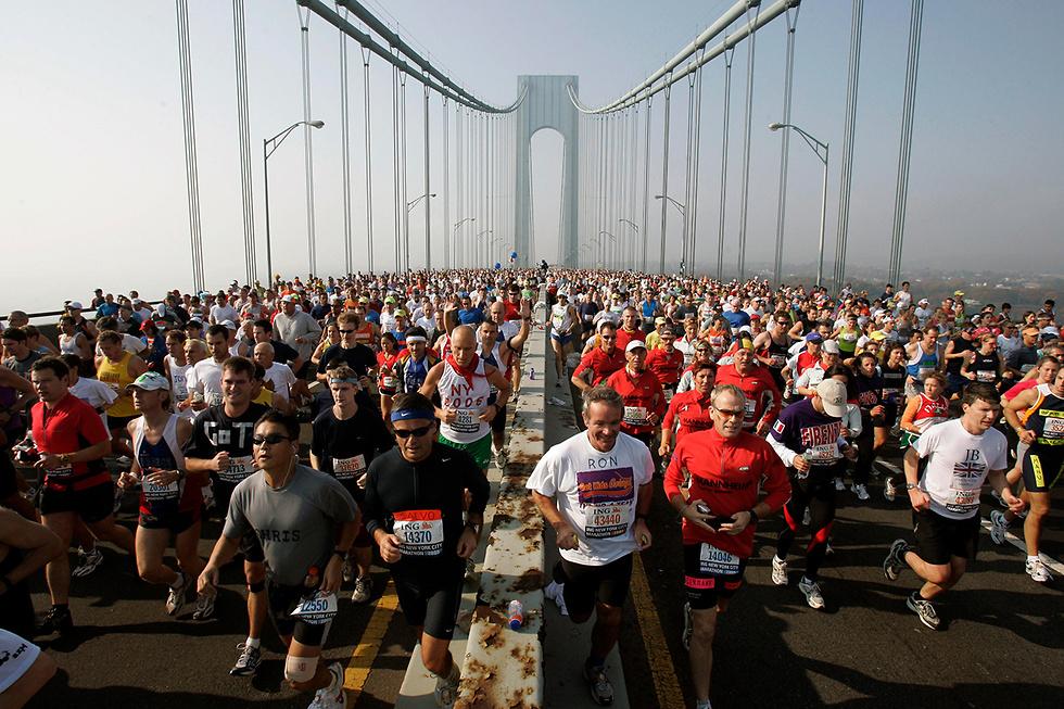 מרתון ניו יורק ב -2005 שבוטל השנה (צילום: AP)