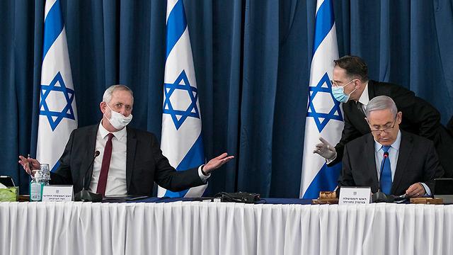 ישיבת ממשלה (צילום: אוליבייה פיטוסי)