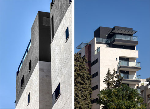 התוצאה. פרויקטים קבלניים כובלים את ידיהם של האדריכלים בתקציב מוגבל. האתגר הוא להצליח להשיג פרטים, ולו חלקיים (צילום: טל ניסים)