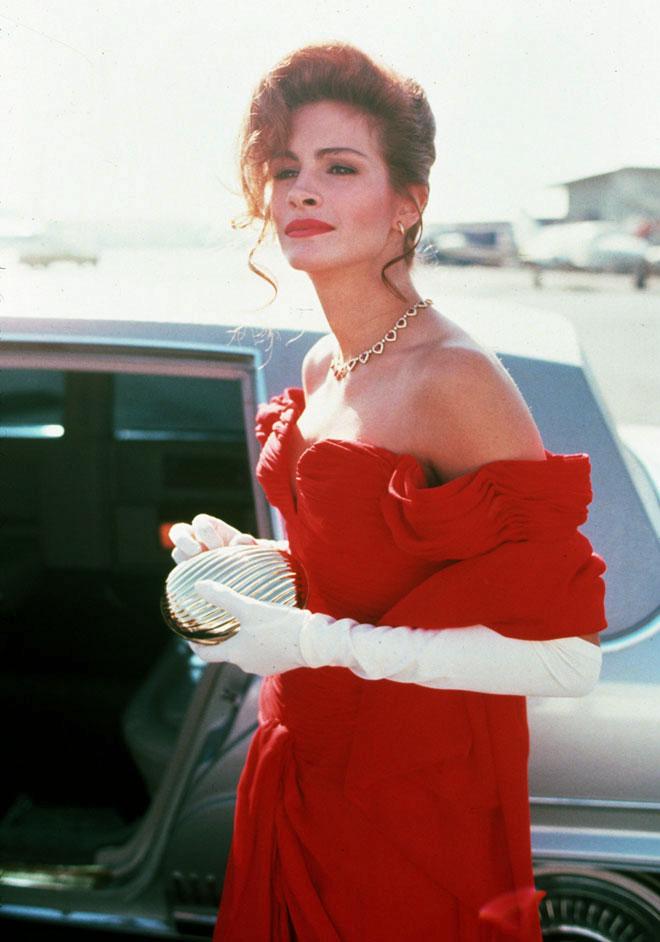 """הצליחה למכור אפילו את הסיפור המופרך ביותר. """"אישה יפה"""", 1990 (צילום: rex/asap creative)"""
