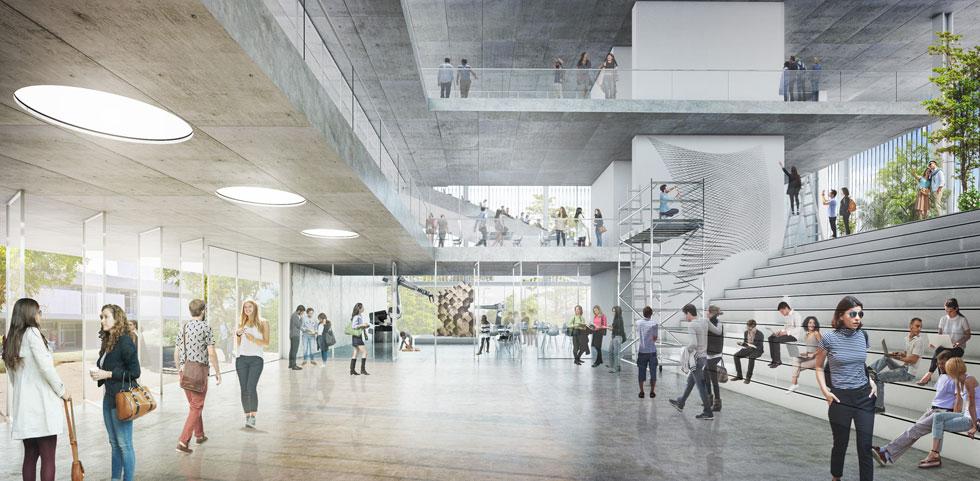 ''ניסינו להכניס את החוויה הלימודית ולתת גמישות מרבית'', אומר האדריכל ליאור ציונוב (ציונוב-ויתקון אדריכלים)