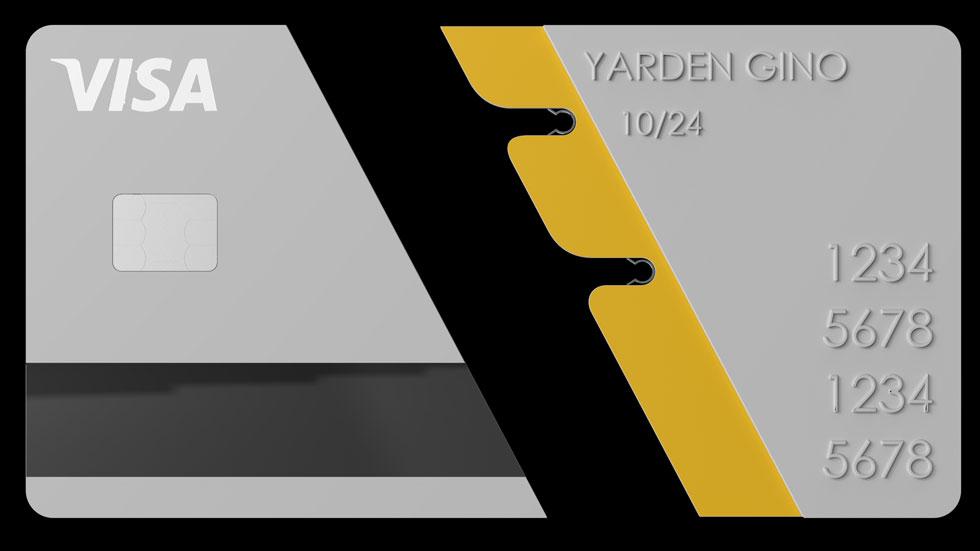 הכרטיס המתפרק (עיצוב: ירדן ג'ינו)