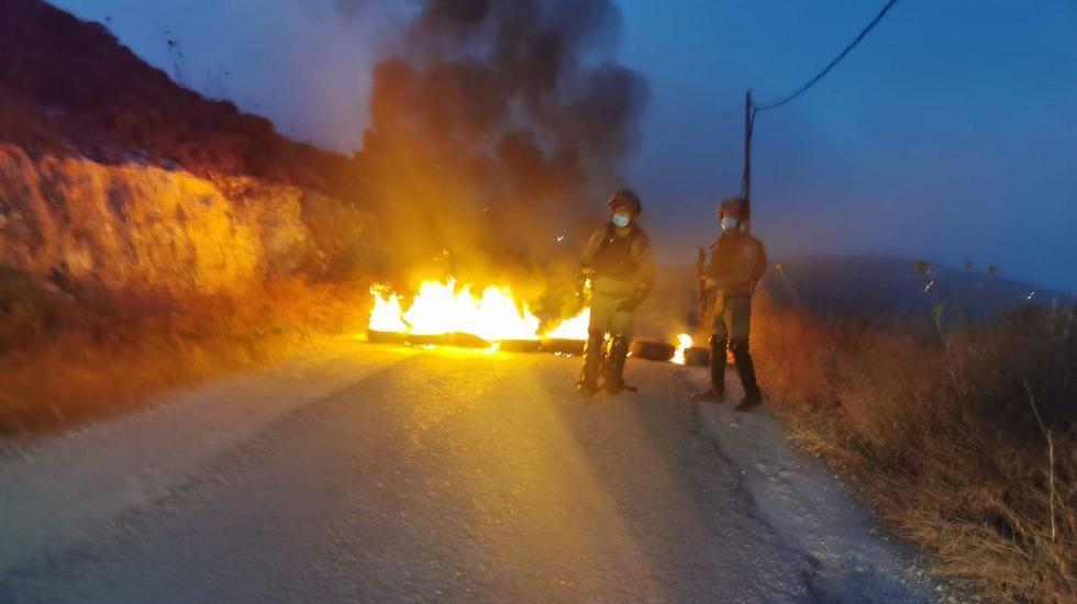 במהלך פעילות לאכיפת צו שטח צבאי סגור סמוך ל ליצהר נפצעו לוחמים ע