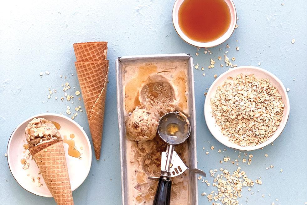 גלידת קראק פאי  (צילום וסגנון: נטשה חיימוביץ')