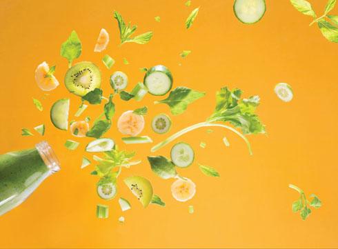 שייק ירוק  (צילום וסגנון: דניאל שכטר)