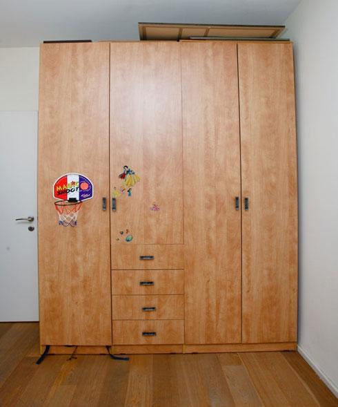 הארון לפני השיפוץ