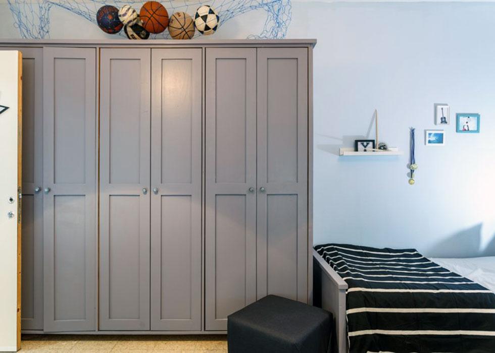 אחד האמצעים החשובים לשדרוג כל ארון הוא צבע אקרילי  (צילום: נויה שילוני חביב)