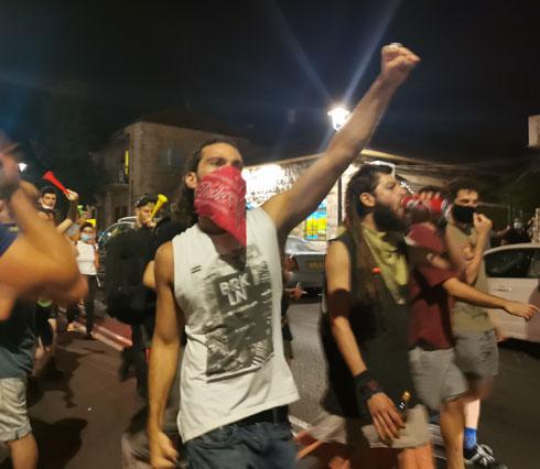 הפגנה בירושלים (צילום: איתי יעקב)
