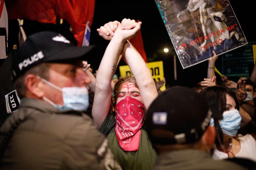 הצעירים שרוצים ליצור מחאה אחרת. לחצו על התמונה לכתבה המלאה (צילום: AP)
