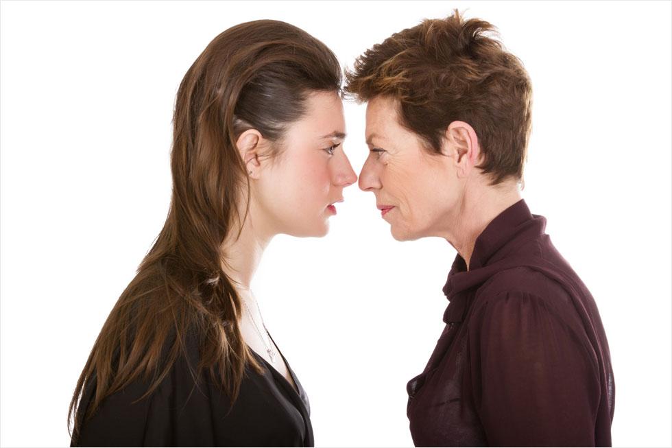לא רוצה להיות כמו אמא? לא חייבת (צילום: Shutterstock)