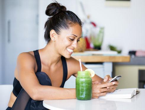 למשקיעניות:שייק ירוק. הכי בריא (צילום: Shutterstock)