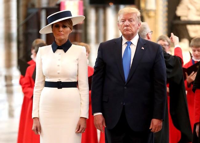 """בויז וויל בי בויז"". מלניה ודונלד טראמפ (צילום:  GettyImages)"