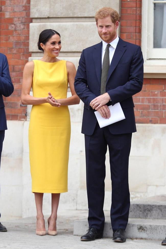 הורים לשניים. הנסיך הארי ומייגן מרקל (צילום: Gettyimages)