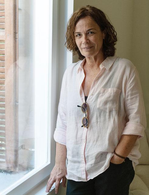 האדריכלית רבקה כרמי. הקפדה על איכות הריהוט והנגרות (צילום: גדעון לוין)