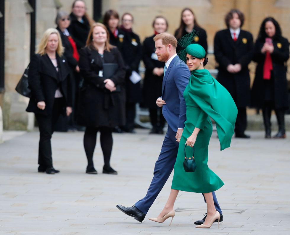 2020-2010: סיפור הסינדרלה של מייגן מרקל והנסיך הארי כבש את מדורי האופנה (צילום: AP)
