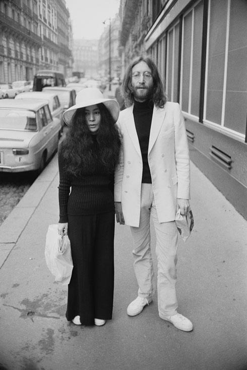 מהזוגות האגדיים של כל הזמנים. ג'ון לנון ויוקו אונו (צילום: Reg Lancaster/GettyimagesIL)