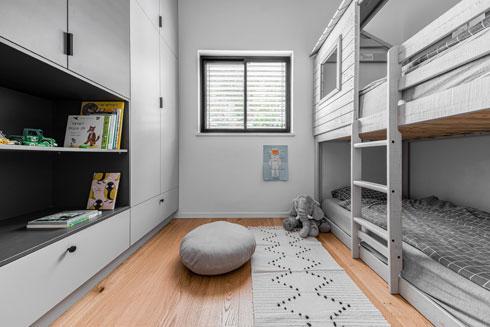 ''עוד חדר לילדים, זה הדבר היחיד שהייתי רוצה לשנות'', אומרת האם (צילום: קרין רבנה)