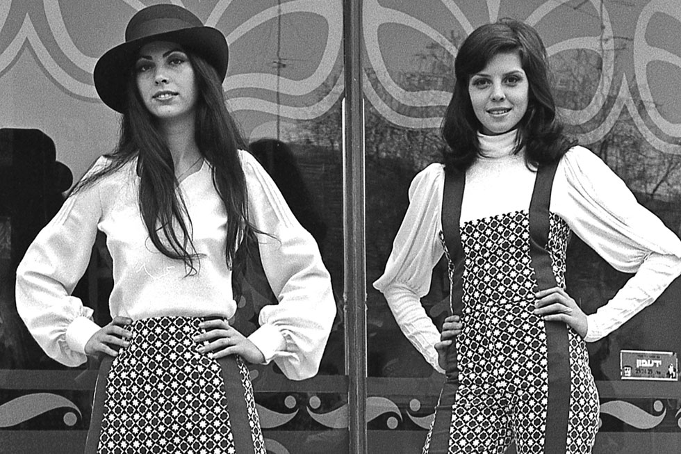 """""""זה היה צילום ספונטני בכסית פינת רוול"""". שנות ה-70 בתל אביב, מתוך הארכיון של הצלמת יעל רוזן (צילום: יעל רוזן)"""