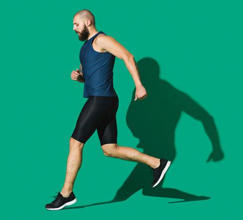 אתה לא צריך לקרוע את עצמך במכון הכושר ולא לצאת לריצת מרתון (צילום: Shutterstock)