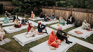 חתונת חצר בקנדה (צילום: אמריט)