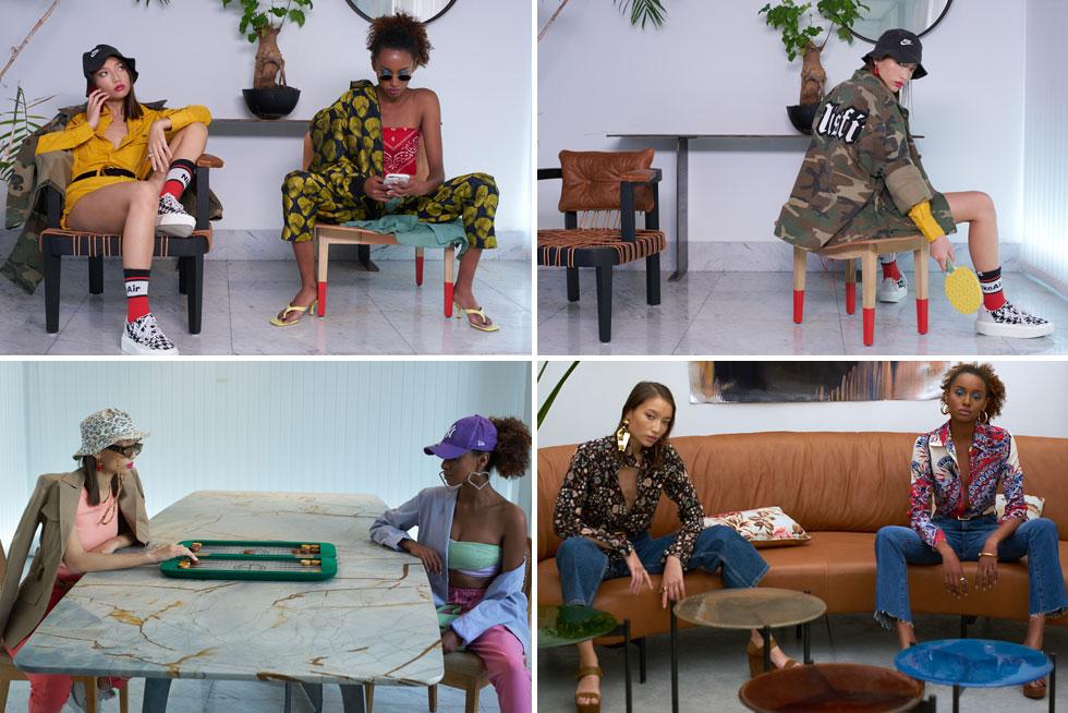 """""""הערבוב בין אופנה ועיצוב הוא המהות של העשייה שלי"""". הקמפיין בשיתוף פעולה עם רון קדמי (ניהול קראיטיב ובימוי: רון קדמי)"""